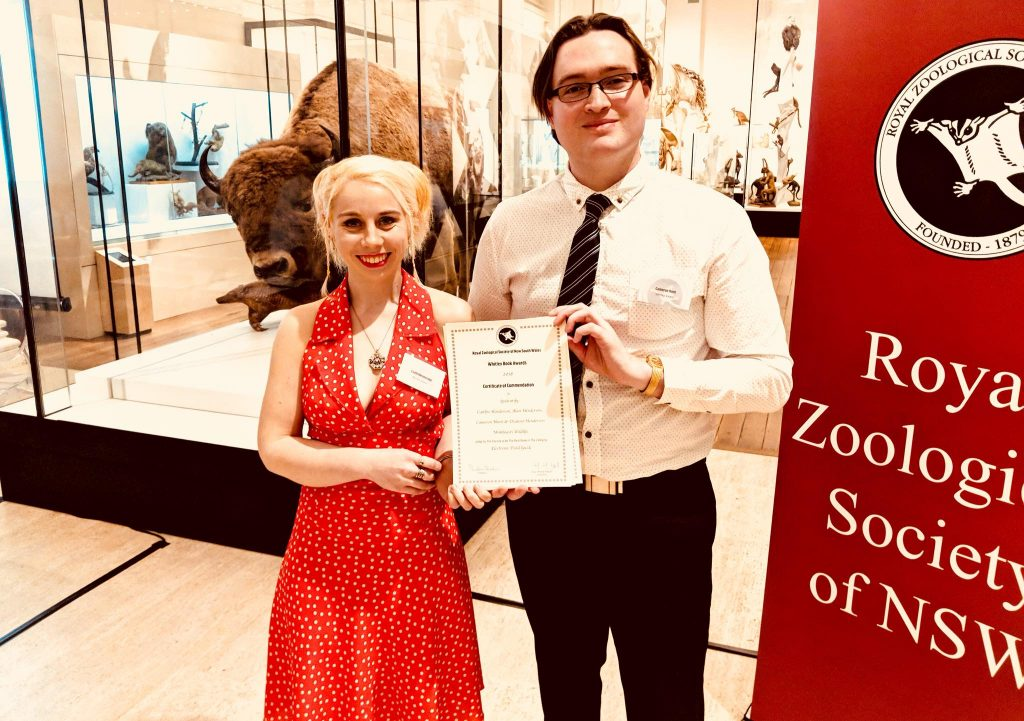 Spidentify wins a Whitley Award at the Australian Museum in Sydney